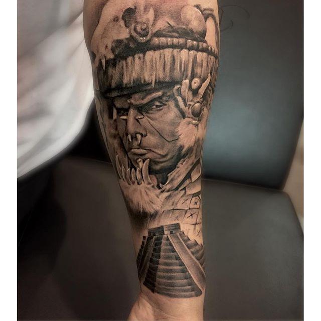 four horsemen of the apocalypse tattoo by Francisco ...  |Apocalypto Tattoo